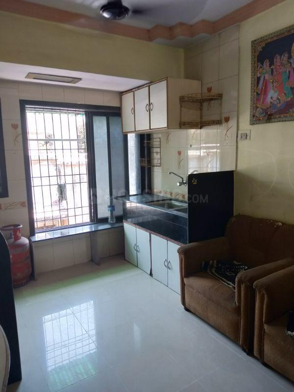 Living Room Image of 700 Sq.ft 1 BHK Apartment for rent in Nerul for 19000