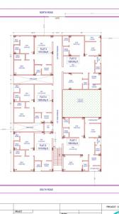 Gallery Cover Image of 1350 Sq.ft 3 BHK Apartment for buy in Hafeezpet for 7800009