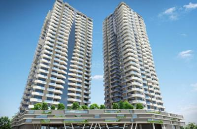Gallery Cover Image of 1500 Sq.ft 3 BHK Apartment for buy in Soham Crystal Spires, Thane West for 18200000