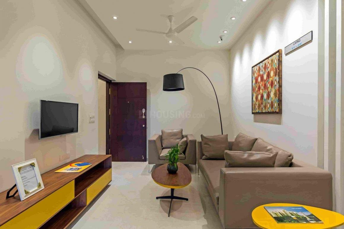 Living Room Image of 1027 Sq.ft 2 BHK Apartment for buy in Karappakam for 6700000