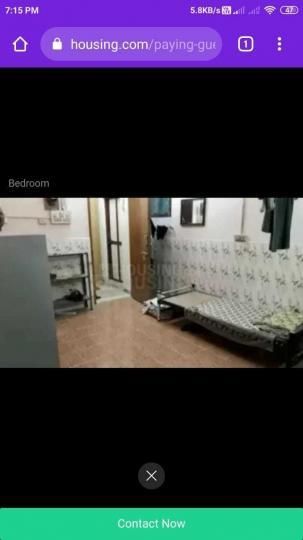 Bedroom Image of PG 5285561 Mylapore in Mylapore