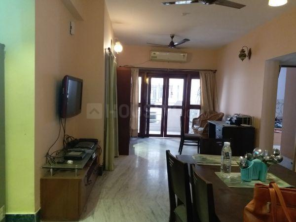 Living Room Image of 1000 Sq.ft 3 BHK Apartment for rent in Purba Barisha for 20000