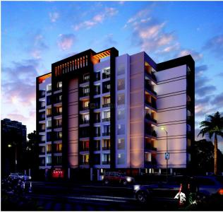 Gallery Cover Image of 401 Sq.ft 1 BHK Apartment for buy in Kasarvadavali, Thane West for 5237000