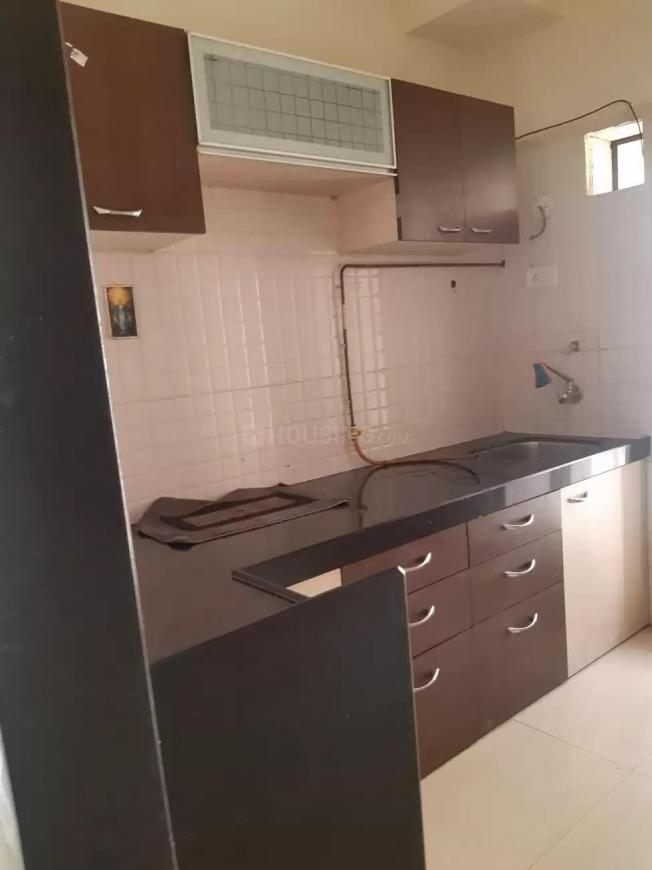 Kitchen Image of 695 Sq.ft 1 BHK Apartment for rent in Mira Road East for 13000