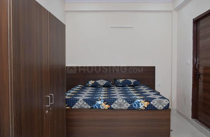 Bedroom Image of 680 Sq.ft 1 RK Apartment for rent in Sushant Lok I for 14000
