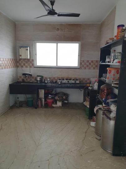 Kitchen Image of 600 Sq.ft 1 BHK Independent Floor for rent in Karve Nagar for 15000