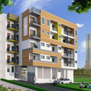 Gallery Cover Image of 670 Sq.ft 2 BHK Independent Floor for buy in Sector 105 for 2535395
