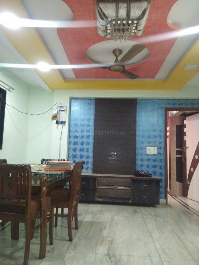 Living Room Image of 550 Sq.ft 1 BHK Independent Floor for rent in Kopar Khairane for 15000