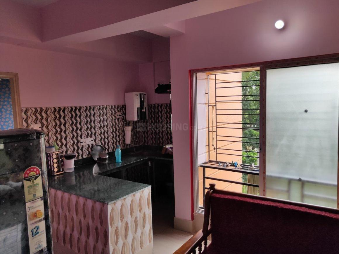 Kitchen Image of 800 Sq.ft 2 BHK Apartment for rent in Narendrapur for 9000