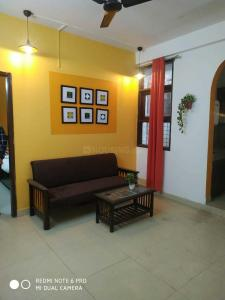 Gallery Cover Image of 450 Sq.ft 1 BHK Independent Floor for rent in Saket for 15000