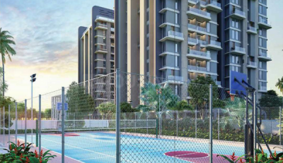 Gallery Cover Image of 669 Sq.ft 2 BHK Apartment for buy in Merlin Verve, Tollygunge for 5485800