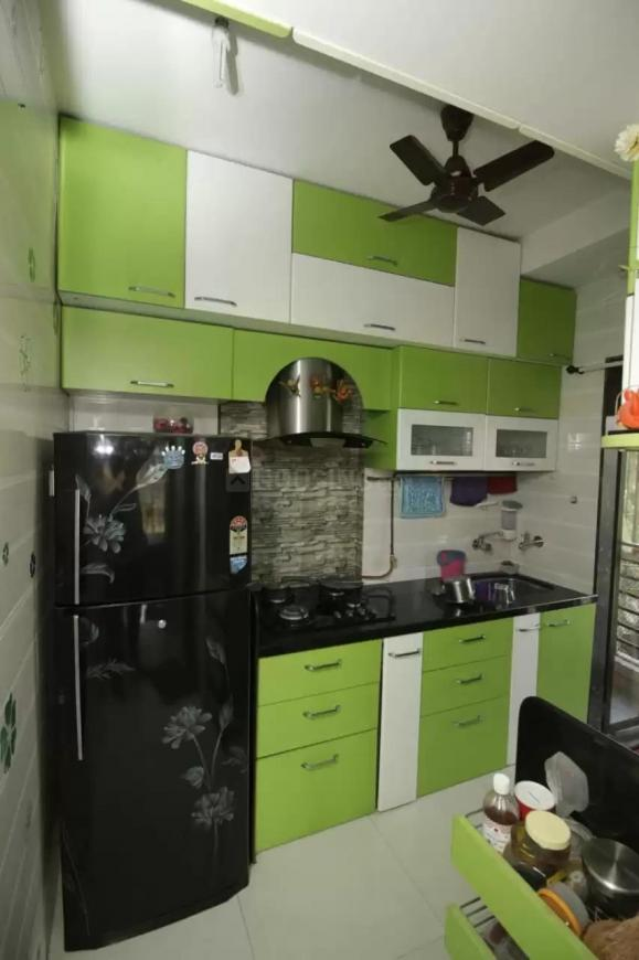 Kitchen Image of 650 Sq.ft 1 BHK Apartment for buy in Dahisar West for 10000000