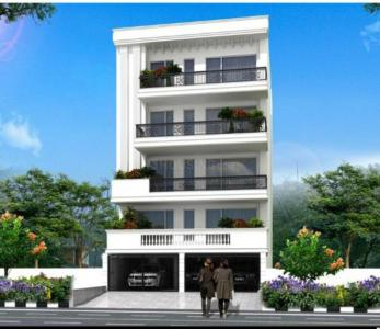 Gallery Cover Image of 1215 Sq.ft 3 BHK Independent Floor for buy in Sant Nagar for 12500000