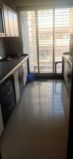 Kitchen Image of 710 Sq.ft 1 BHK Apartment for rent in Bandra East for 45000