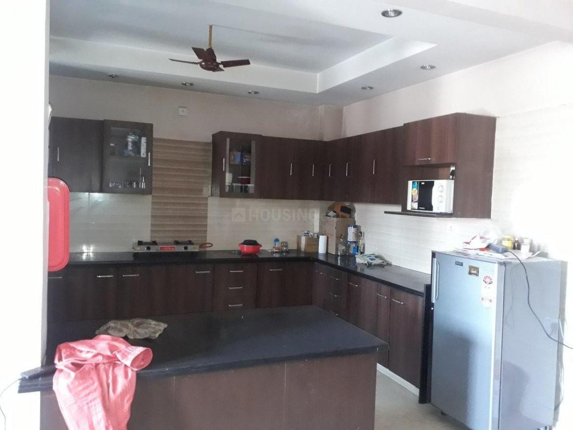 Kitchen Image of 1200 Sq.ft 2 BHK Independent House for rent in Sushant Lok I for 34000