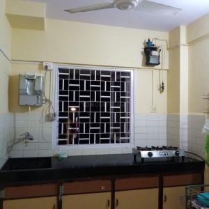 Kitchen Image of Flatsharing For Girls Near Mount Carmel Church in Bandra West