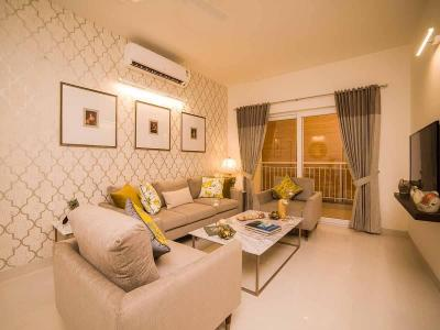 Gallery Cover Image of 1465 Sq.ft 3 BHK Apartment for buy in Casagrand Woodside, Kolapakkam for 8570250