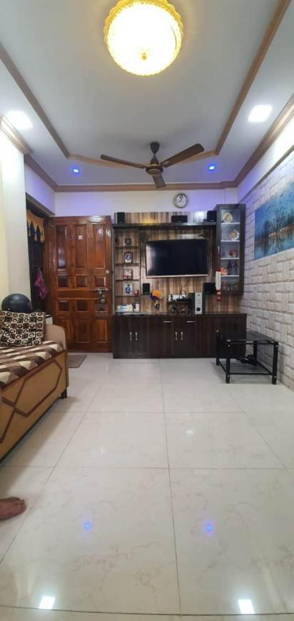 Living Room Image of 565 Sq.ft 1 BHK Apartment for buy in Kalwa for 5500000