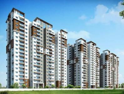 Gallery Cover Image of 1220 Sq.ft 2 BHK Apartment for buy in Salarpuria Magnus, Shaikpet for 11000000