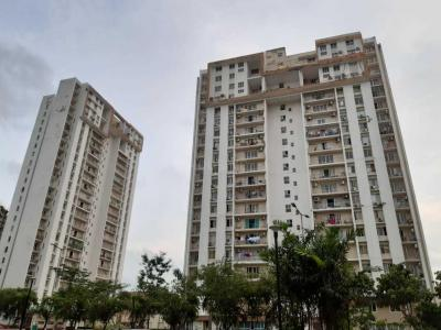 Gallery Cover Image of 1555 Sq.ft 3 BHK Apartment for rent in TATA Eden Court Primo, New Town for 22000