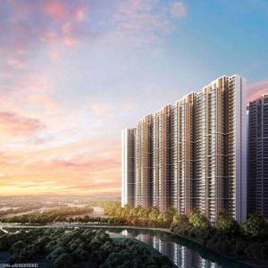 Gallery Cover Image of 935 Sq.ft 2 BHK Apartment for buy in Nexzone, Panvel for 6200000