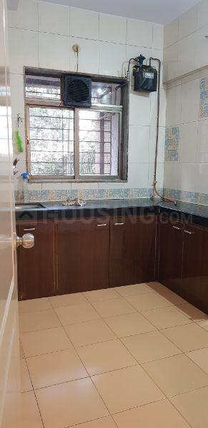 Kitchen Image of 669 Sq.ft 1 BHK Apartment for rent in Bhandup West for 24000