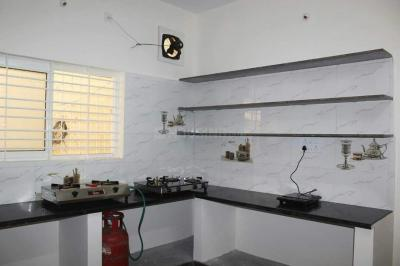 Kitchen Image of Studio Rooms For Girls - Fully Furnished in BTM Layout