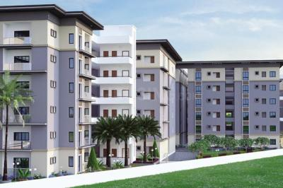 Gallery Cover Image of 1160 Sq.ft 2 BHK Apartment for buy in Bachupally for 5461000