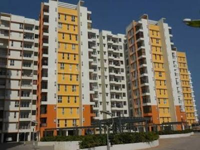 Gallery Cover Image of 651 Sq.ft 1 BHK Apartment for rent in Olympia Grande, Pallavaram for 20000