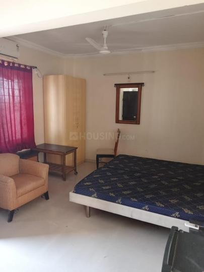 मुंधवा में स्टूडिओ फ्लैट के बेडरूम की तस्वीर