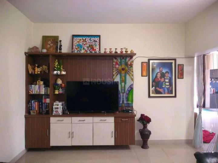 Living Room Image of 1200 Sq.ft 2 BHK Apartment for rent in Vamsiram Jyothi Heaven, Sri Nagar Colony for 20000