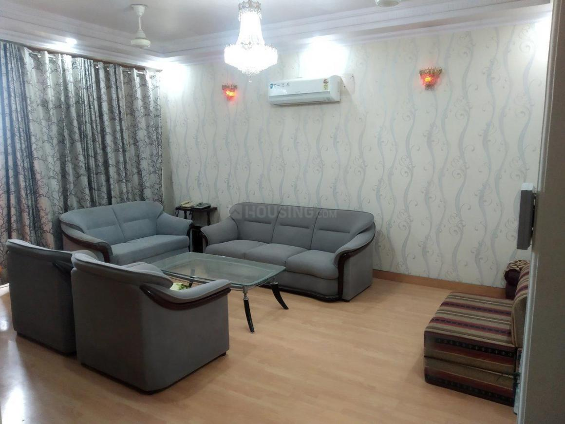 Living Room Image of 1700 Sq.ft 3 BHK Apartment for rent in Sector 9 Dwarka for 45000