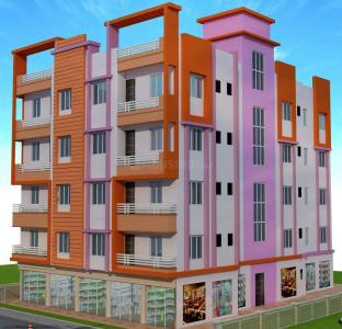 Gallery Cover Image of 1150 Sq.ft 3 BHK Apartment for buy in  Prativa Kunj, Dum Dum Cantonment for 2700000