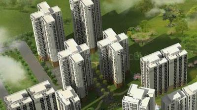 Gallery Cover Image of 1550 Sq.ft 3 BHK Apartment for buy in Jaypee Greens Kensington Park, Sector 133 for 5400000