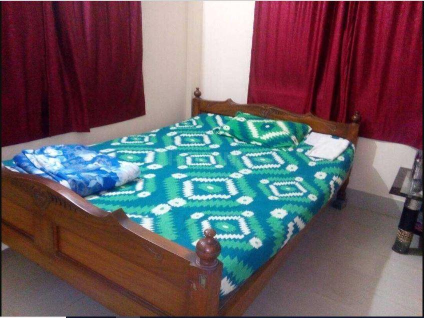 Bedroom Image of 1231 Sq.ft 3 BHK Apartment for rent in Mukundapur for 18000