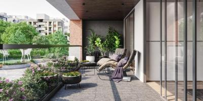 Gallery Cover Image of 3555 Sq.ft 4 BHK Apartment for buy in Vertis One, Sola Village for 18100000