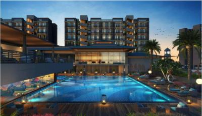 Gallery Cover Image of 660 Sq.ft 1 BHK Apartment for buy in Akshar River Gate, Rasayani for 2300000