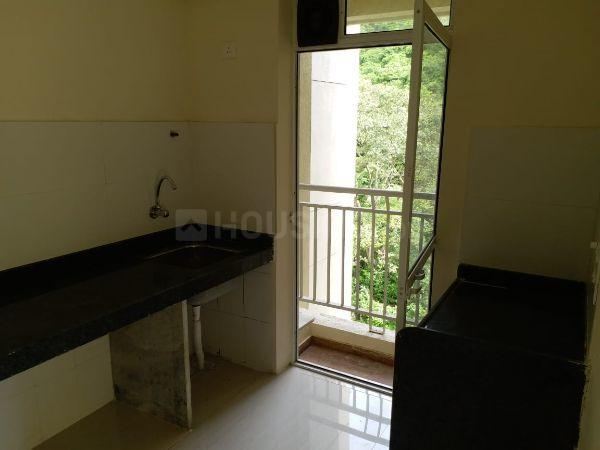 Kitchen Image of 900 Sq.ft 2 BHK Apartment for buy in Bharat Ecovistas, Shilphata for 6000000