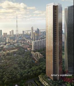 Gallery Cover Image of 1500 Sq.ft 3 BHK Apartment for rent in Lodha Marquise, Worli for 160000