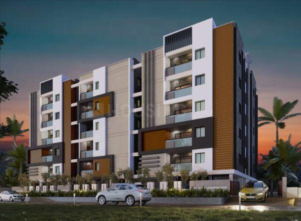 Building Image of 1300 Sq.ft 3 BHK Apartment for buy in LB Nagar for 7400000