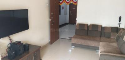 Gallery Cover Image of 650 Sq.ft 1 BHK Apartment for rent in Shilphata for 10000