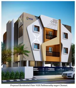 Gallery Cover Image of 955 Sq.ft 2 BHK Apartment for buy in Madambakkam for 4631750