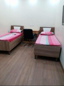 Bedroom Image of Andhra Paying Guest Hostel in Khirki Extension