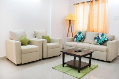 Living Room Image of PG 4642459 Hennur Main Road in Narayanapura