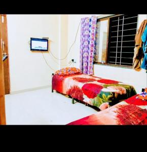 Bedroom Image of Ats PG in Wakad