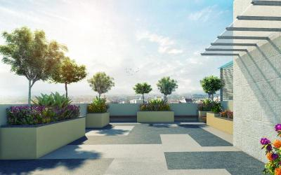 Balcony Image of 1105 Sq.ft 3 BHK Apartment for buy in Merlin Pristine, New Alipore for 11000000