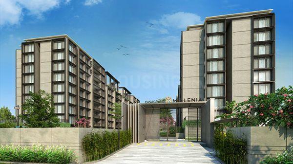 कसग्रांड मिललेनिया, मोगपपेयर  में 14000000  खरीदें  के लिए 14000000 Sq.ft 3 BHK अपार्टमेंट के बिल्डिंग  की तस्वीर