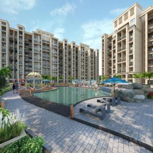 Gallery Cover Image of 950 Sq.ft 2 BHK Apartment for buy in Rohinjan for 7482000