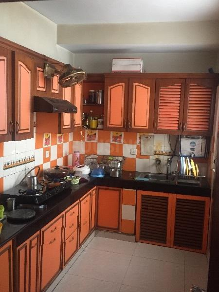 Kitchen Image of 1550 Sq.ft 3 BHK Apartment for rent in Sector 21C for 19000