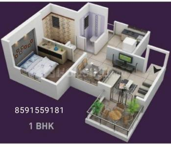 Gallery Cover Image of 532 Sq.ft 1 BHK Apartment for buy in Vasai West for 1577000